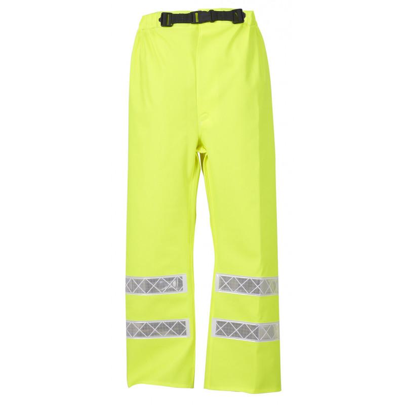 Yellow Hi Vis MACADAM Trousers EN Iso 20471