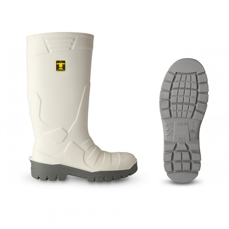 Bottes Safety Blanches