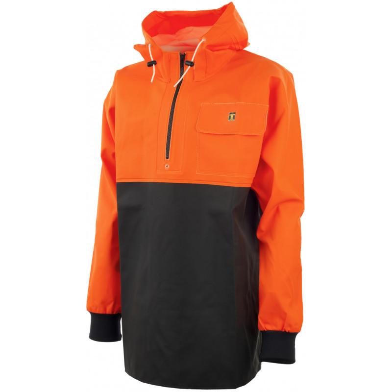 Vareuse Chinook orange fluo/noir
