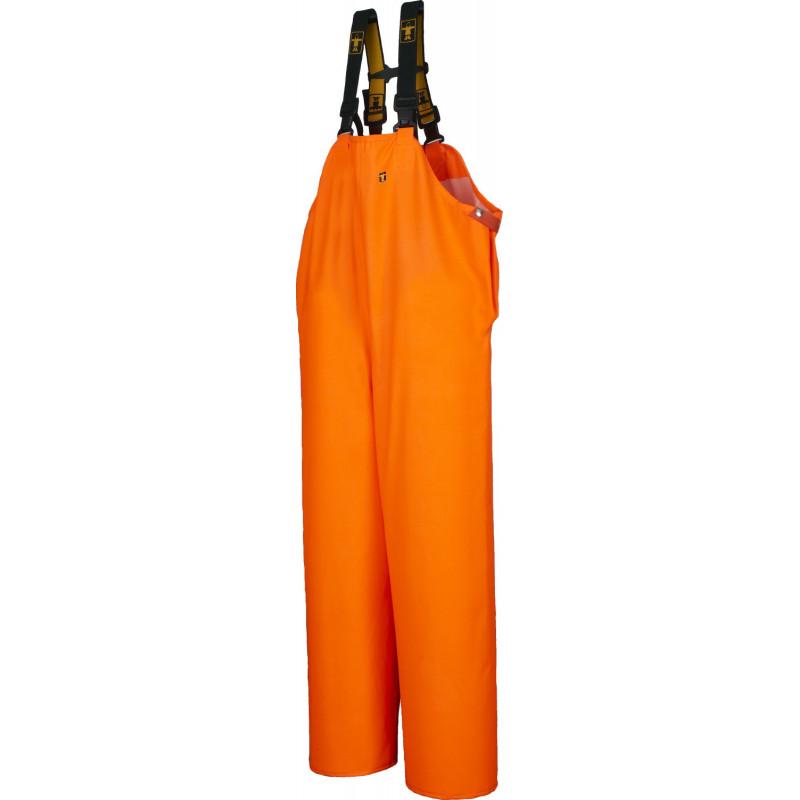 Cotte étanche Ciré - HITRA orange Fluo