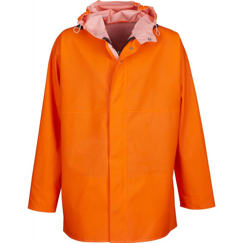 Waterproof GAMVIK jacket - orange Fluo