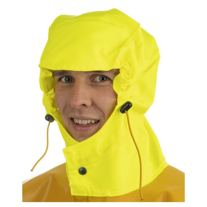 Variable volume 3D oilskin jacket - Magic Hood