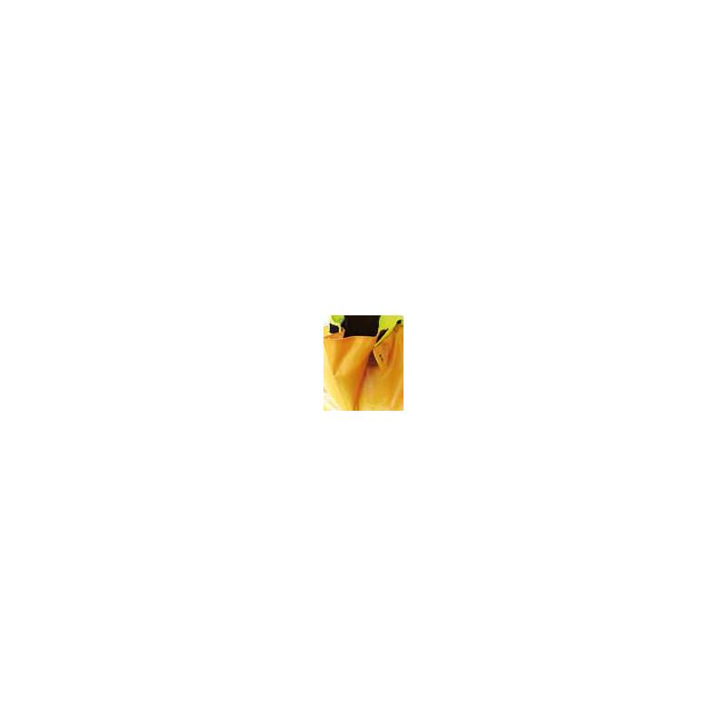 Variable volume 3D oilskin jacket - wide collat gusset