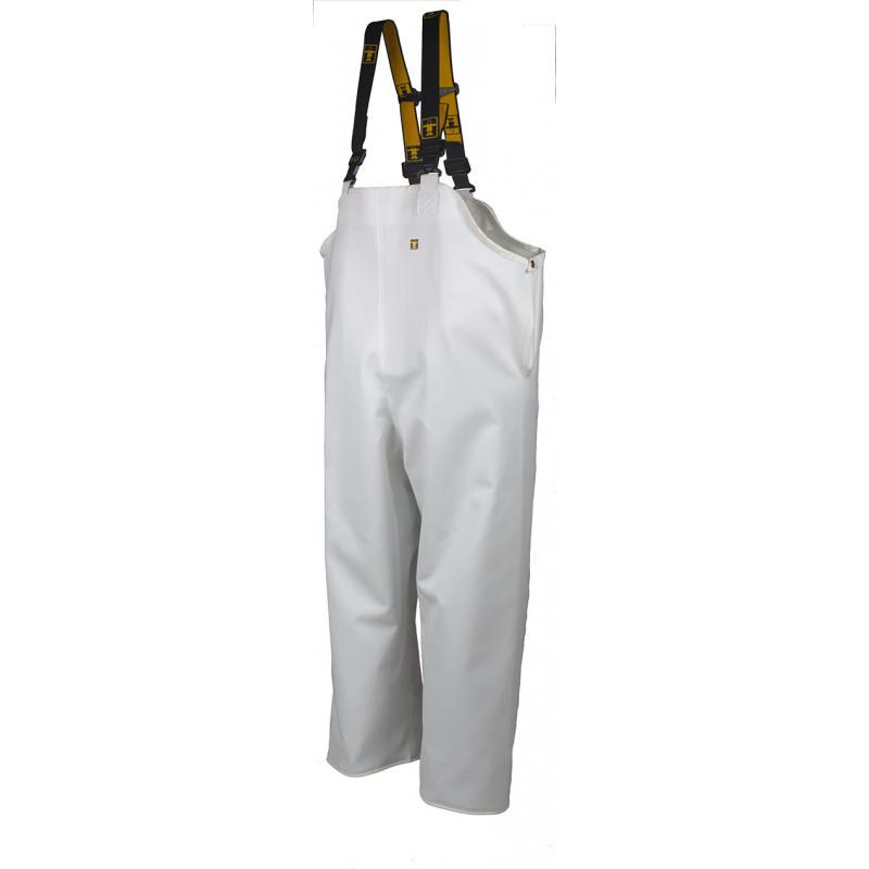 Waterproof Bib and Braces - HITRA Glentex white
