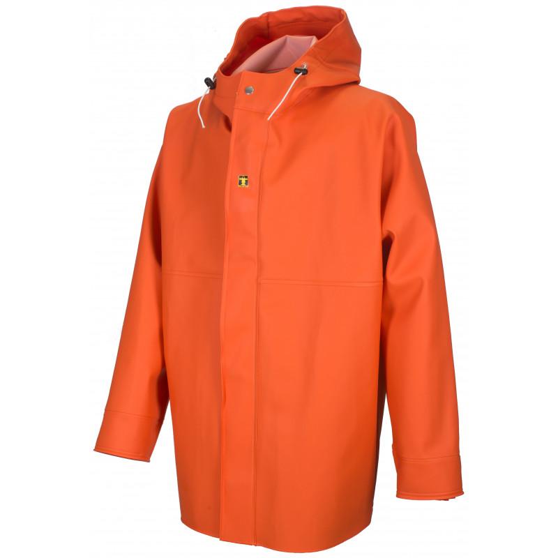 GAMVIK jacket in Fisher fabric - orange