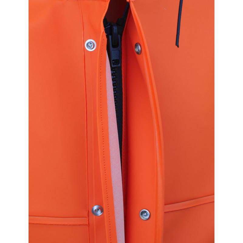 GAMVIK jacket in Fisher fabric - zip fastening