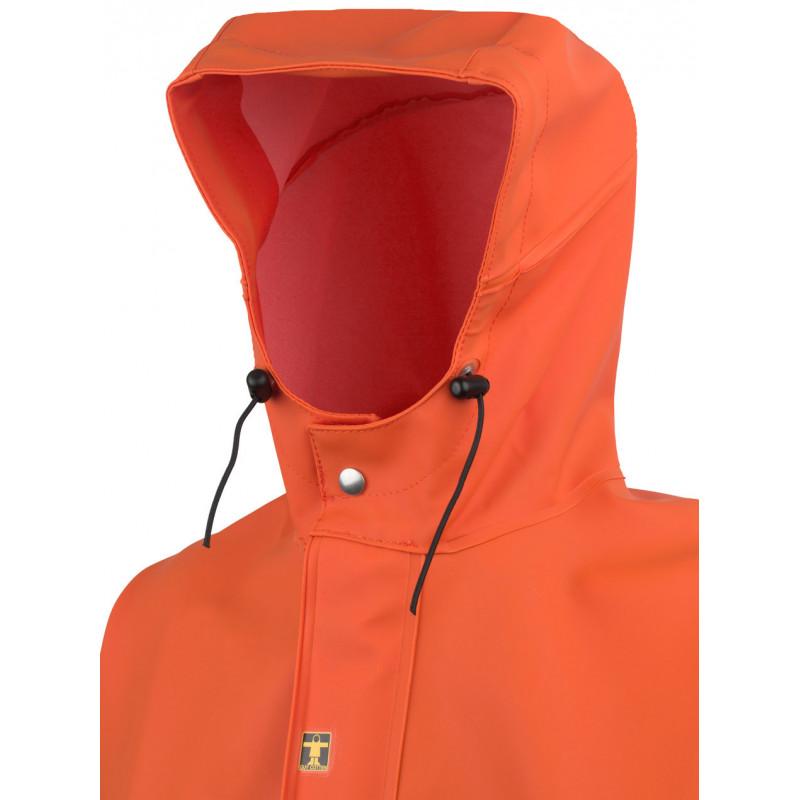 GAMVIK jacket in Fisher fabric - hood