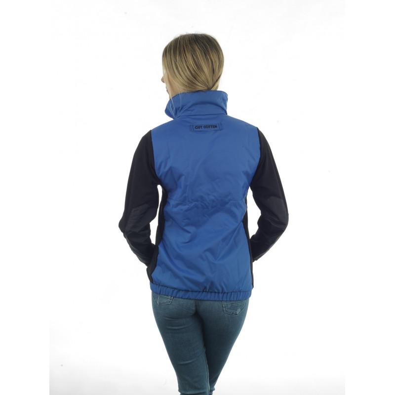 Nirta bleu femme dos