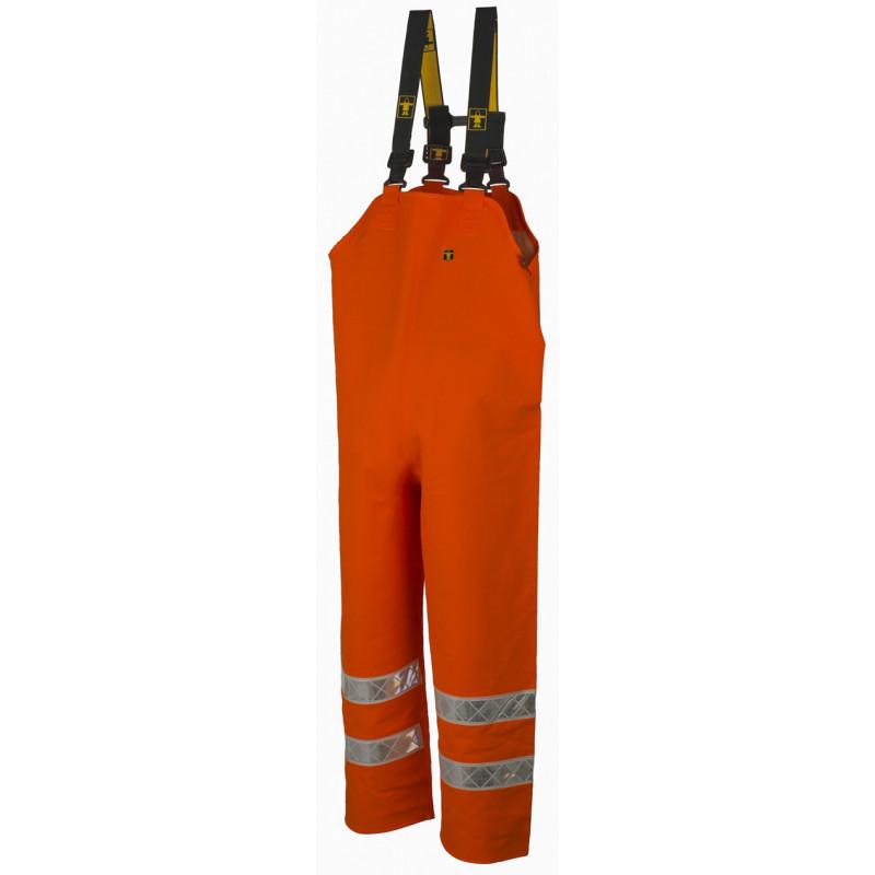 Cotte à bretelles étanche - Hitflash Guy Cotten Orange Fluo