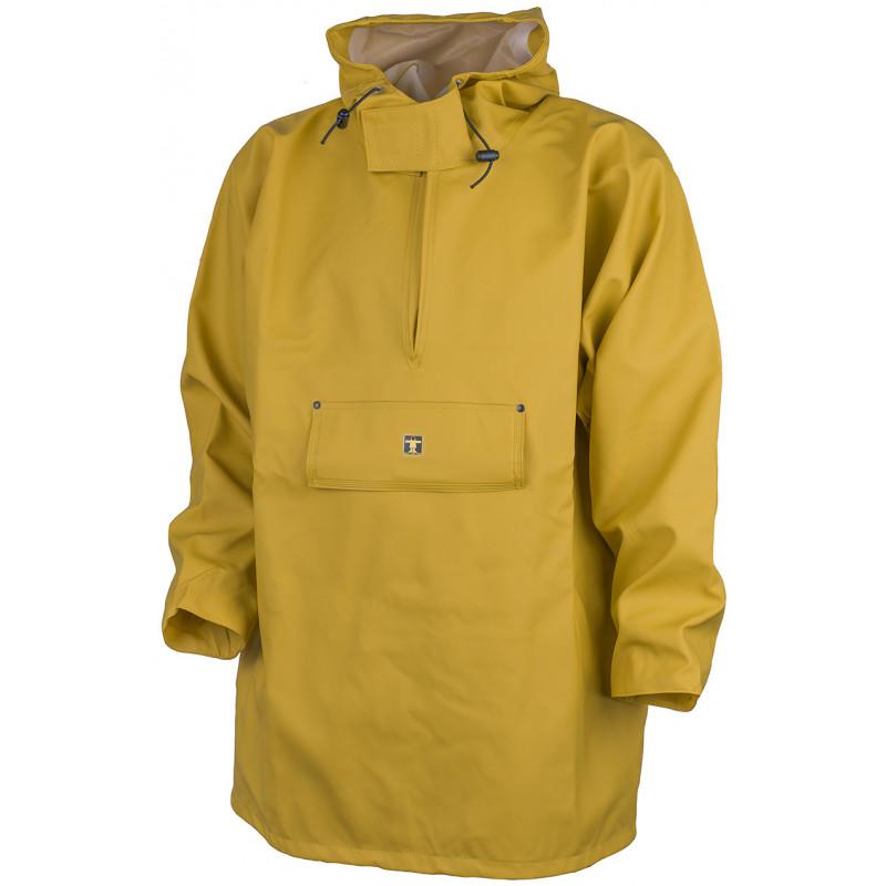 Drenec oilskin wmock in glentex fabric - Yellow