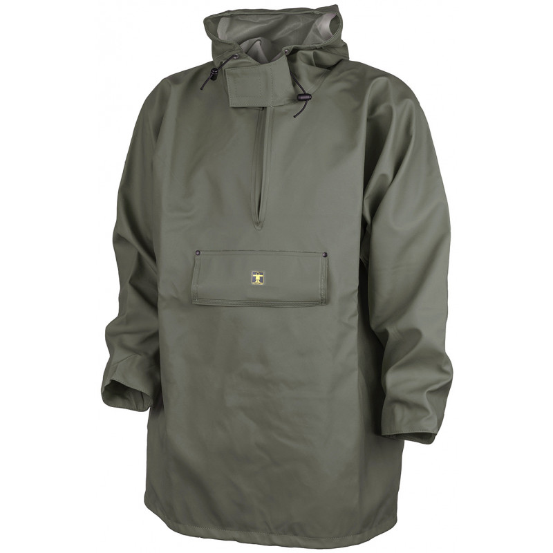 Drenec oilskin wmock in glentex fabric - Hood