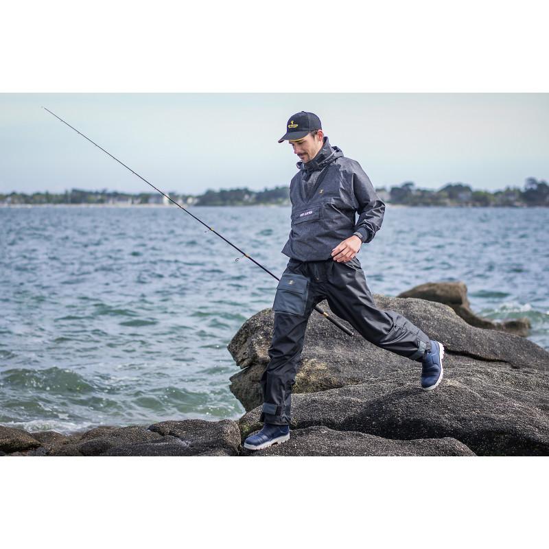 vareuse pêche sportive EFFICIENT dos