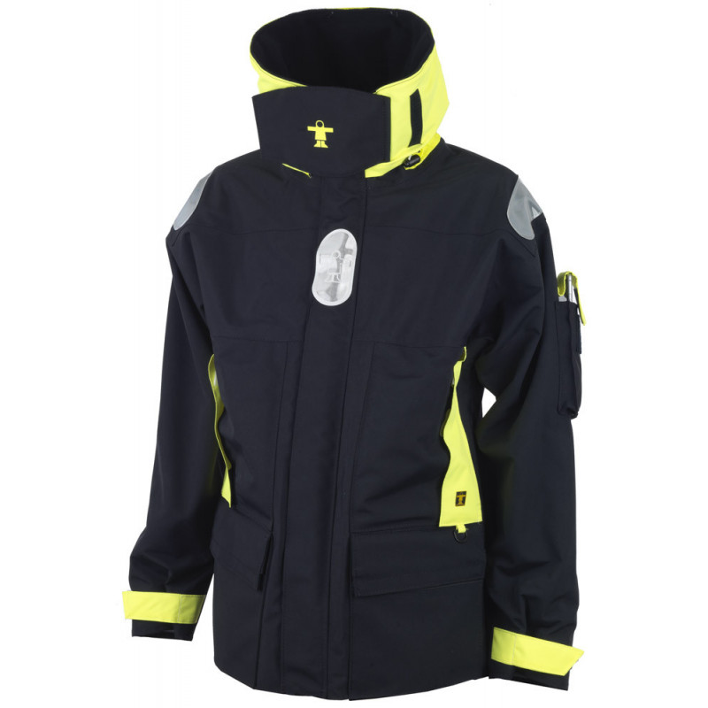 Breathable and resistant KARA offshore jacket.