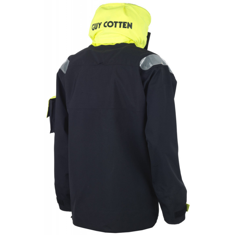 Breathable and resistant KARA offshore jacket - Back