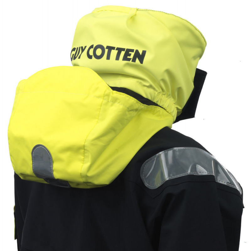 Breathable and resistant KARA offshore jacket - collar