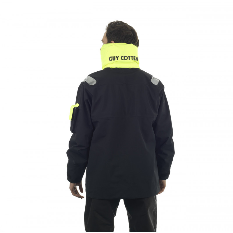 Breathable and resistant KARA offshore jacket - Back 2