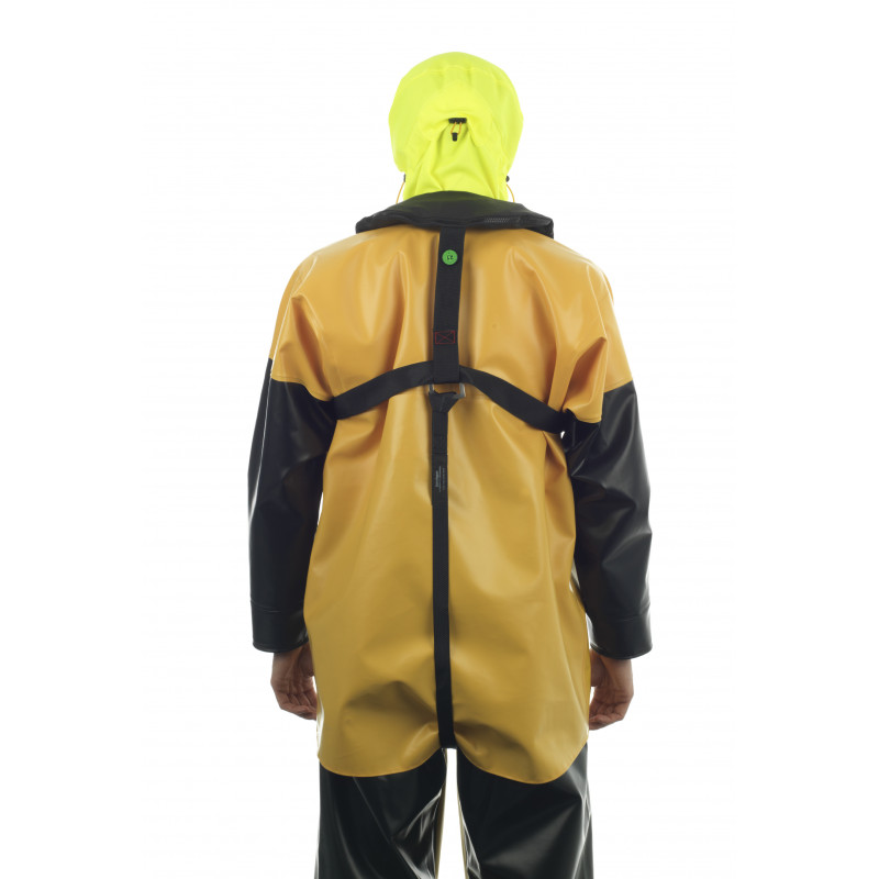 Gilet de sauvetage autogonflant Brizo 150N - sur veste isomax avec sous-cutale
