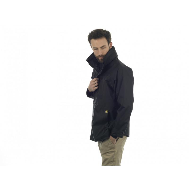 Veste Etel noir imperméable et respirante côté
