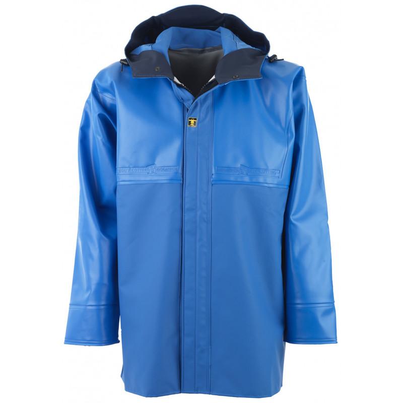 Blue Waterproof Oilskin - jacket AGRO