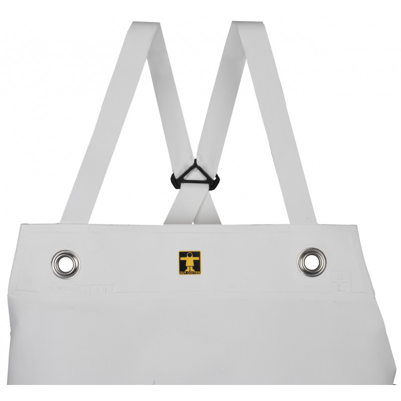 Apron Etal with Isolatech ventral insulation reinforcement - White