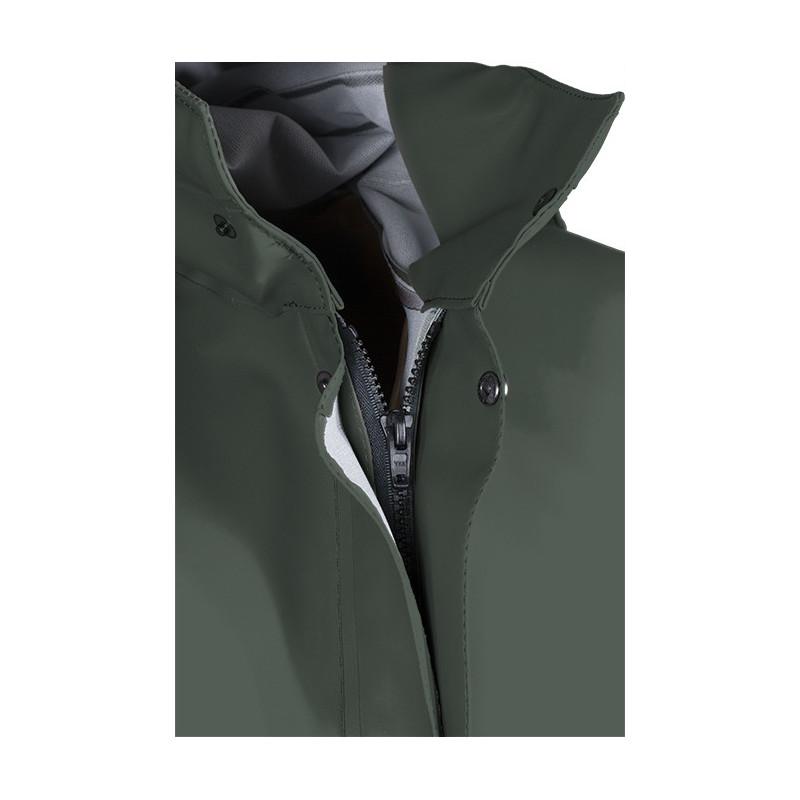 Isoder ISOLATECH® Glentex waterproof oilskin jacket - front