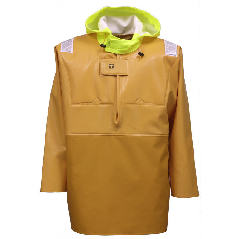 Variable volume Isotop oilskin jacket for safety at work