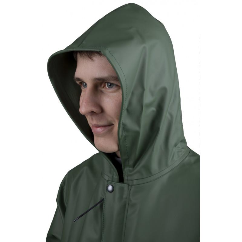 détail capuche veste Isoprim 420
