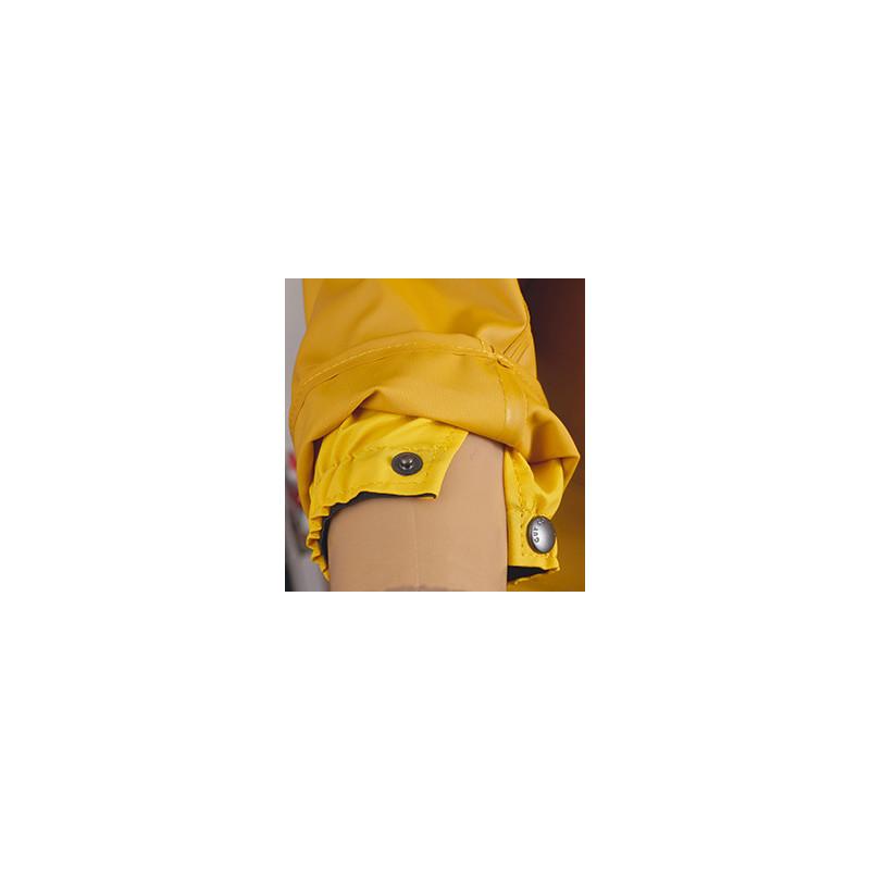 Cuff of breathable oilskin waterproof jacket Drempro