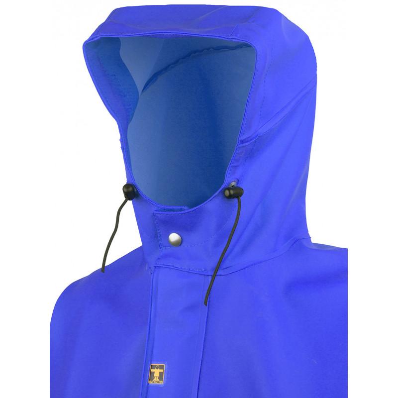 Veste GAMVIK G305 bleue capuche