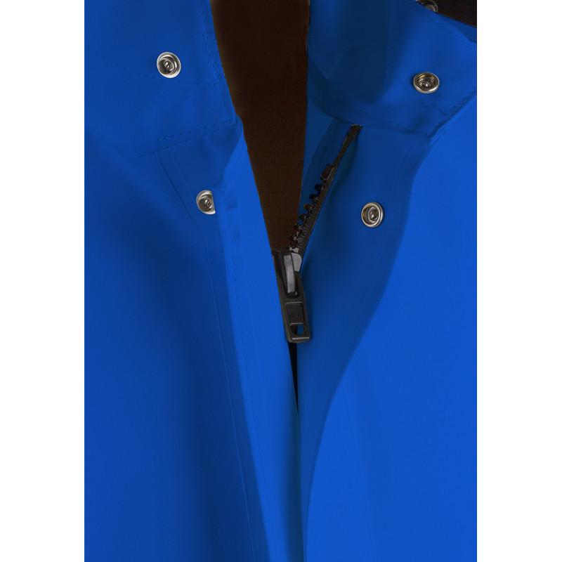 Veste GAMVIK G305 bleue glissière