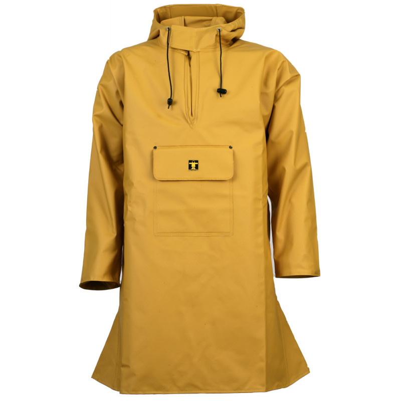 Long and waterproof smock Beauvoir Guy Cotten - Yellow