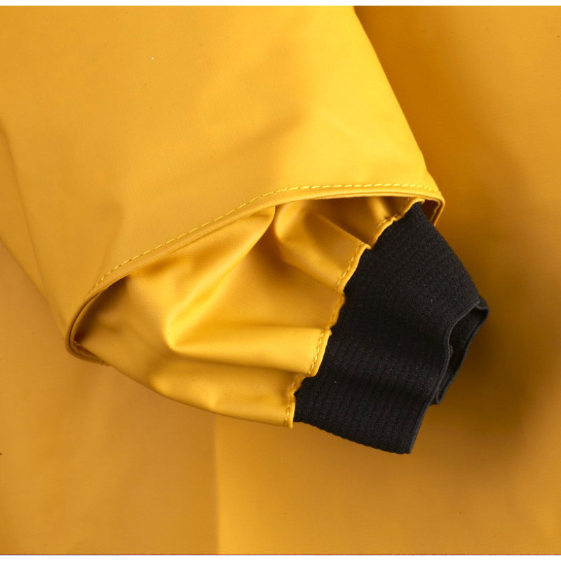 Elasticated cuff of Long and waterproof smock Beauvoir Guy Cotten