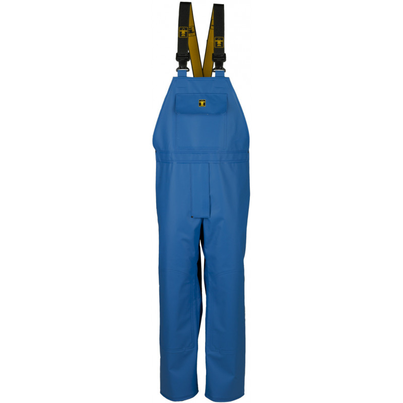 Cotte à bretelles étanche - bleu