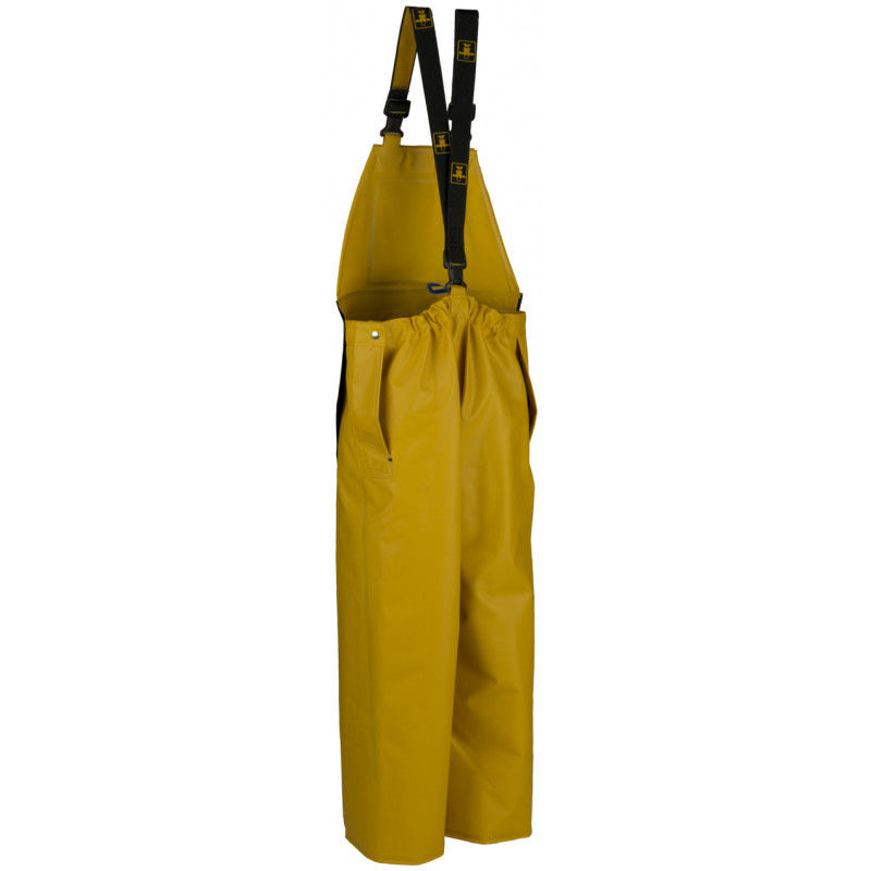 Waterproof bib and braces with apron - Back