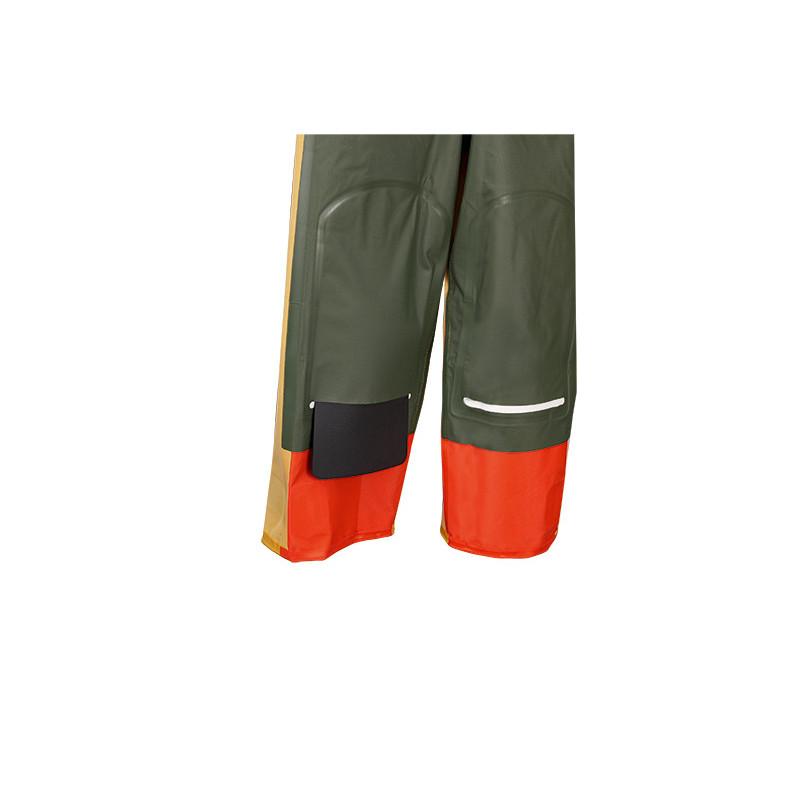 Compartiment pour renforts genoux Cotte à bretelles étanche X-Trapper