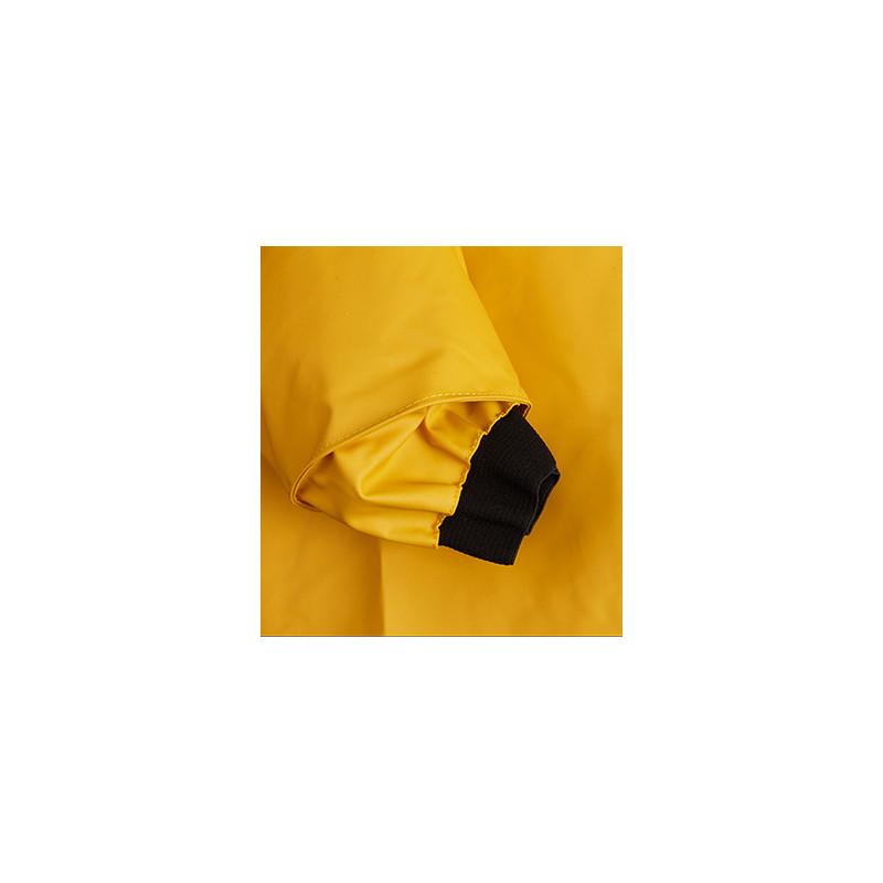 Waterproof Drenec smock in classic fabric - cuff