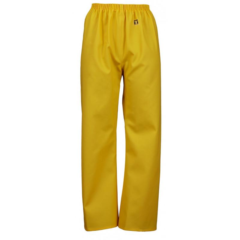 Pantalon ciré enfant étanche à ceinture élastique Pouldo
