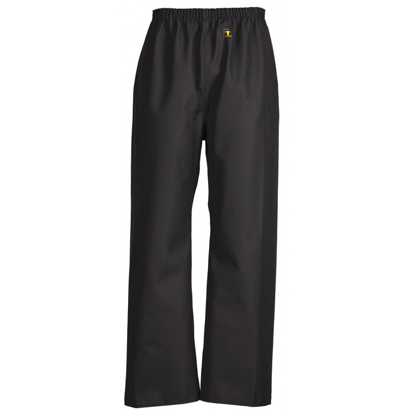 Pantalon ciré étanche Pouldo noir