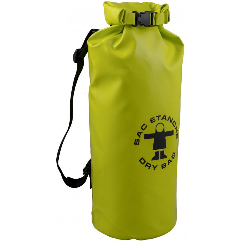 Waterproof oilskin bag number 1 - light green