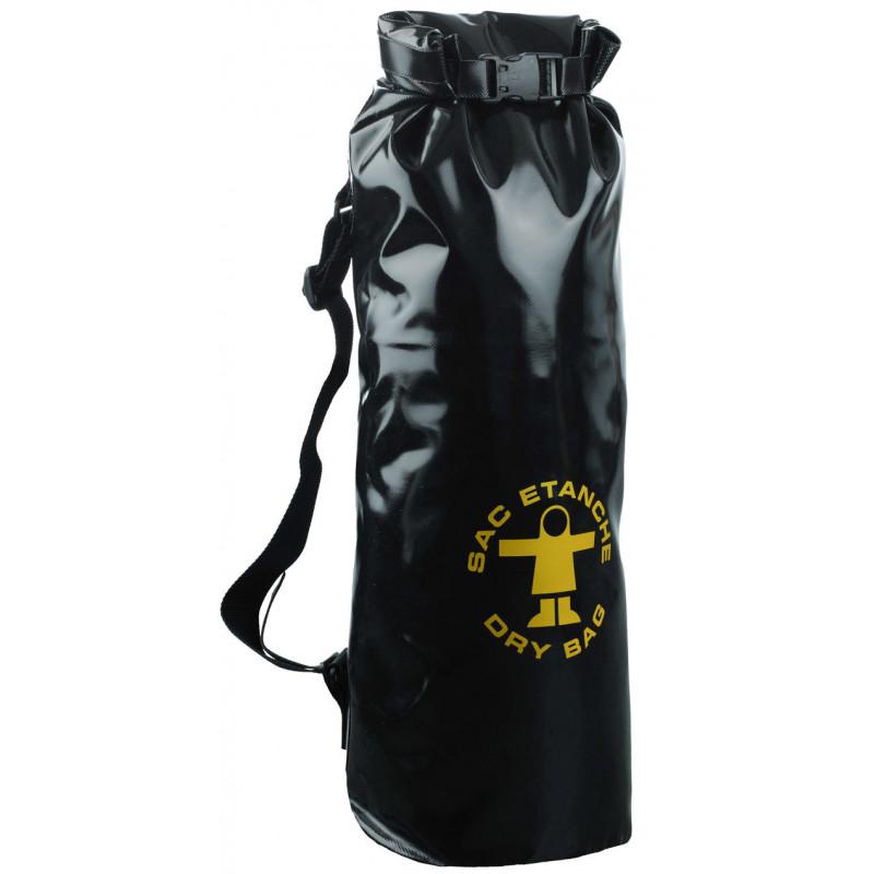 Waterproof oilskin bag number 1 - Black