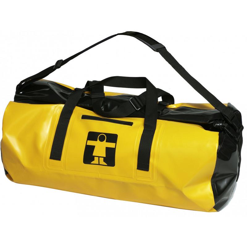 Waterproof oilskin bag Tri+sec - Blue Open