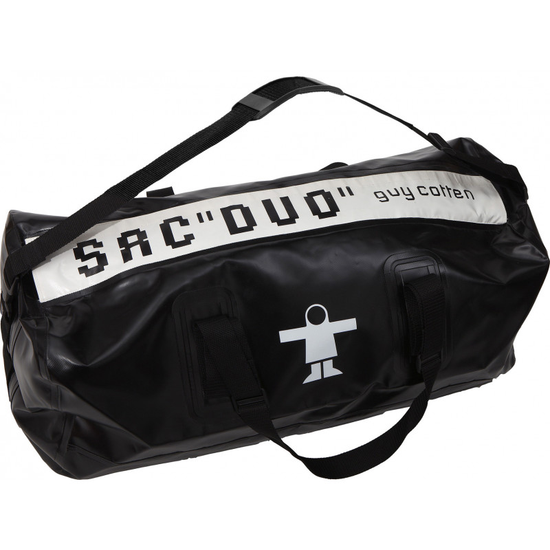 Semi-waterproof Duo compartment oilskin bag  - Double compartment