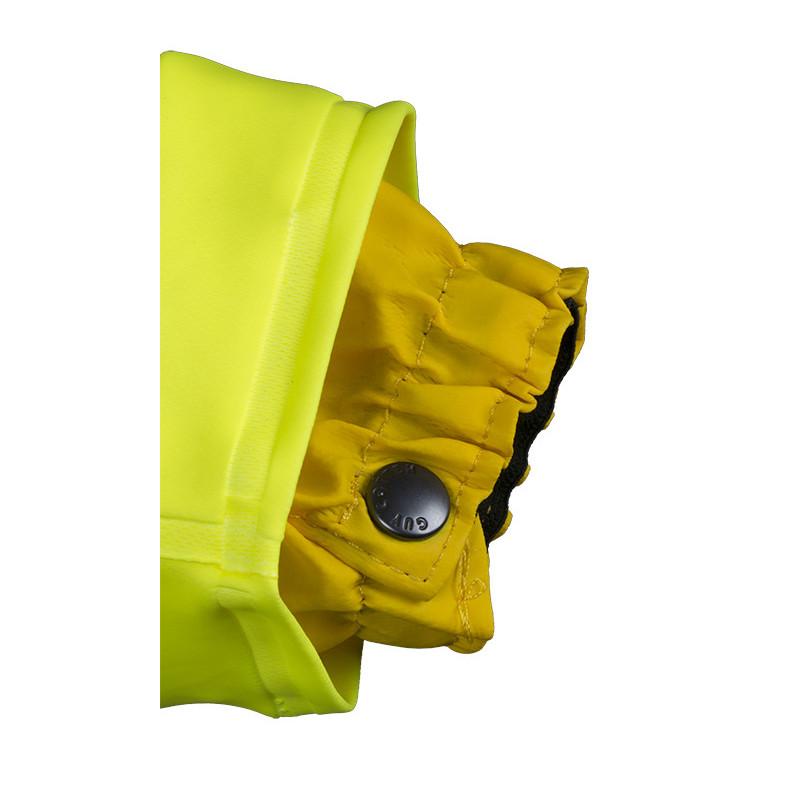 poignet Veste isoflash isolatech haute visibilité jaune