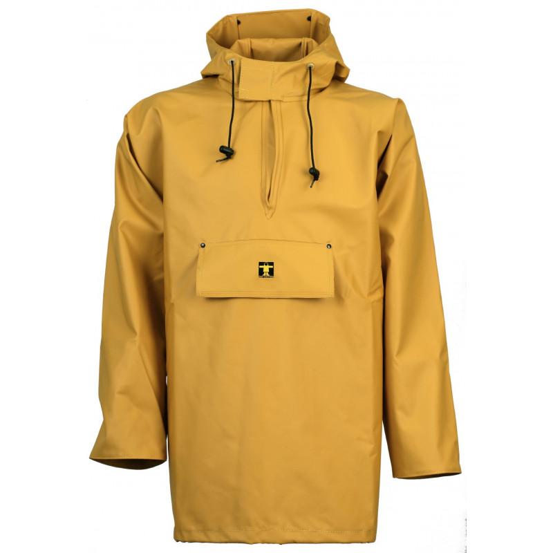 Waterproof smock Drenec in yellow