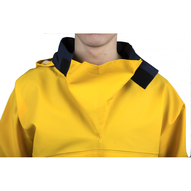 Pêche smock - wide collar gusset