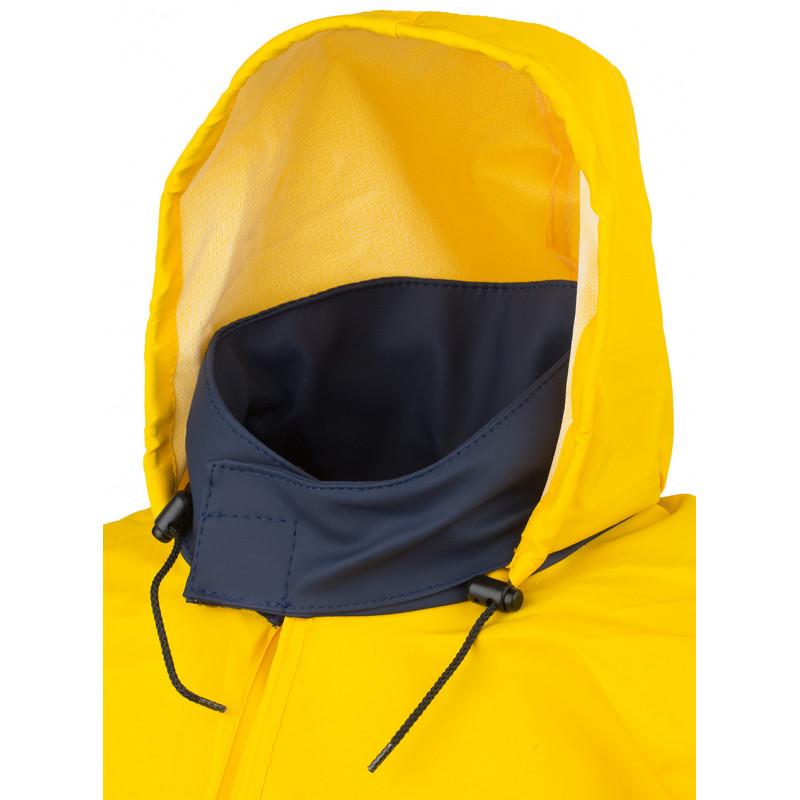 Pêche smock - roll away hood in collar