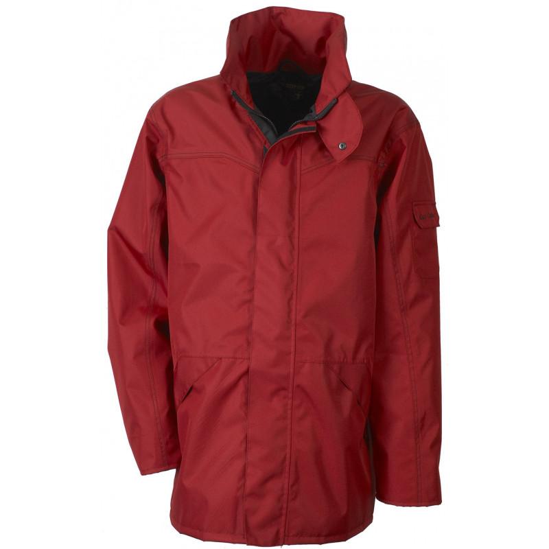 Veste Ressac mixte respirante étanche rouge
