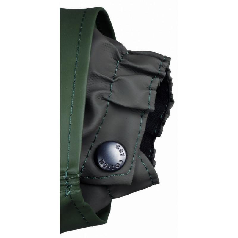 Cuff of Waterproof oilskin Rosbras Jacket Capuche MAGIC