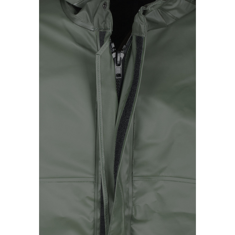 Zip of Waterproof oilskin Rosbras Jacket Capuche MAGIC